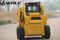 Alibaba golden sale farming equipment mini skid steer loader with CE certification in Canada
