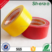 Heavy duty packing tape Cloth tape with black ,sliver ,red ,green, yellow color