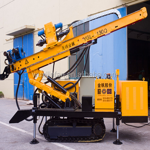 Hydraulic modern road construction equipment, Model No. YGL-130Q, electric/diesel power