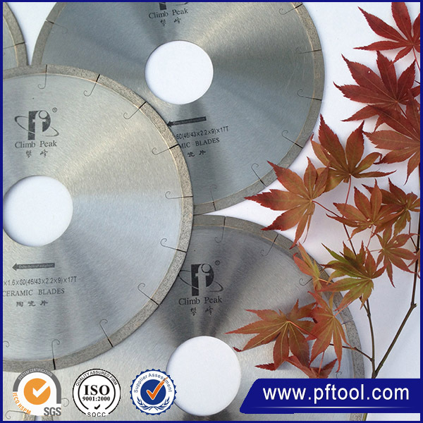 gold supplier china 4 Extra Thin Turbo Tile Saw Blades