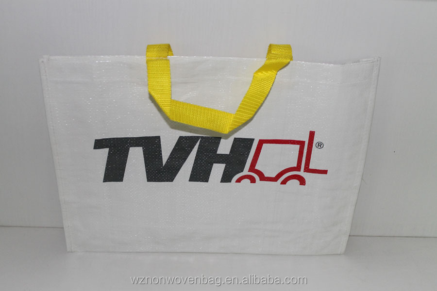 Eco-friendly Favorable price pp woven laminated shopping bag