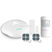 WIFI PSTN alarm system GS-S3 Golden Security newest released with smart home function turn on/off light in APP