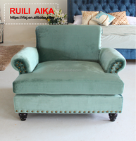 High quality comfortable customized size and color for new model fabric sofa bed