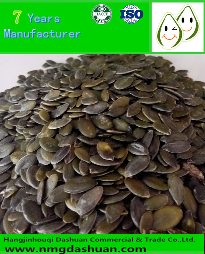 Hot sale green bulk pumpkin seed kernels