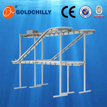 Stainless steel stable clothes conveyor for laundry shop/hotel/garment factory