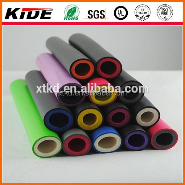 Shock proof rubber pipe foam hand grips isokinetics foam rollers manufacturer