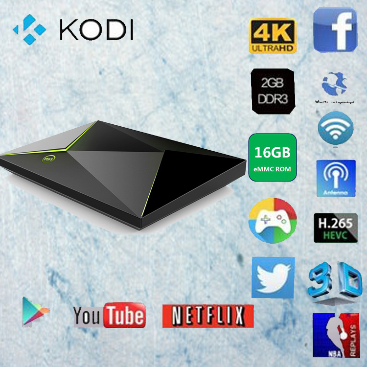 Factory direct sale kodi 16.0 android 5.1 s905x quad core 16GB rom Android tv box M9S Z8 mini pc smart tv box