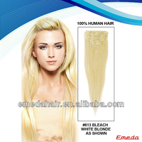 2014 new products clip hair extensions dubai wholesale supplier