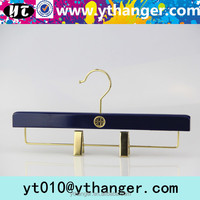 YY383 boutique shop tory burch wood dress hanger wooden pants hanger