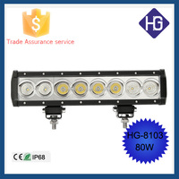 Waterproof LED Light For Wrangler Off Road Van Camper Wagon Outdoor Amber LED Off Road Light Bar