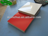 High gloss white MDF board/acyrlic sheet