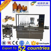 Trade assurance low cost automatic vial filling and sealing machine,liquid filling machine