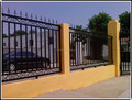 Wall cast iron fence for private garden ZX-ZTHL007