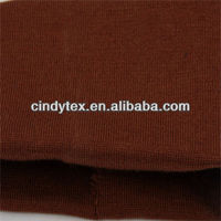 14g brownish acrylic lycra 1*1 wool rib knitted fabric