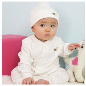 Organic Cotton Natural Sleepwear Pajama Set