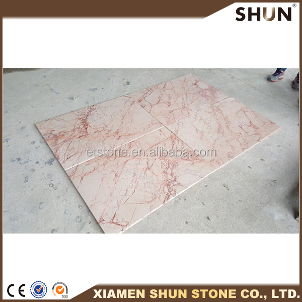 Turkey Rose Standard Marble Slab Size For Factory Promotions/Marble Big Slab/Marble Luxury Decoration