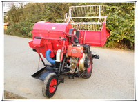 Flexible 4LZ-0.6 Mini Combine Harvester/Rice & Wheat Harvester