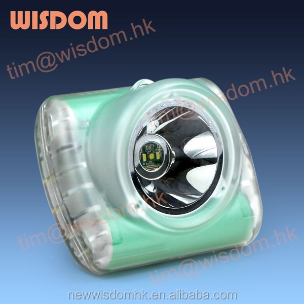 2015 NEW Wisdom Miners Construction Cordless Cap Lamp/Cordless Safety Lamp/Cordless Caplamp 3 With MSHA,ATEX,CE