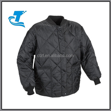 Hot Sale Polar Quilt Lined Freezer Jacket - Black