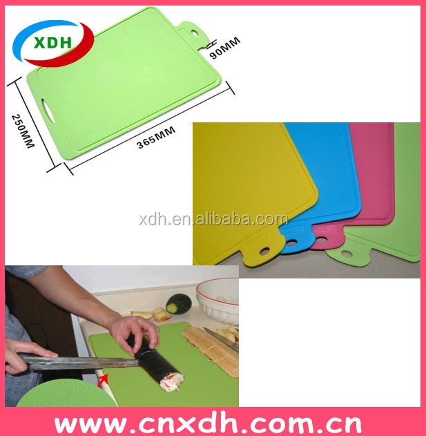 Hot new product for 2015 Silicone chopping board silicone cutting board