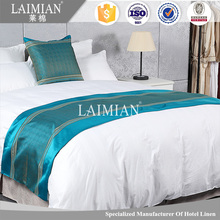 Wholesale china supplier hotel king size bed scarf /runner