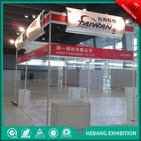 High quanlity complete trade show equipment include stand supplier in China
