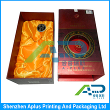 Fancy Custom Factory Price Custom Printing Paper Wine Packaging Gift Box