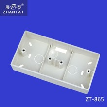 2015 Fashion Style PVC Switch box Electrical Connection Wall Switch box