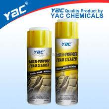 Multi-purpose Foam cleaner spray/Aerosol Foam Carpet Cleaner/Car care products