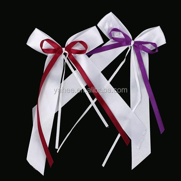 Antenna Bow Decorative Ribbons Wedding Party Car Hair Decoration