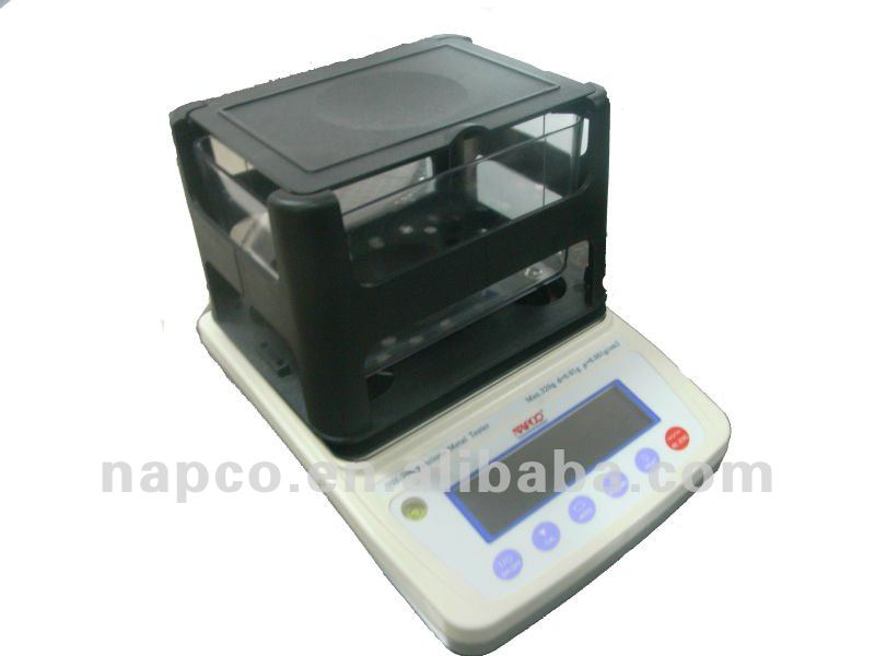 3000g High Capacity Density Gold Testing Machine For Jewelry Shops