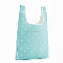 Cheap custom heavy duty recyclable waterproof shopping bag foldable nylon tote bag