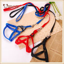 Nylon Dog high-end Harness Padded Soft Extra firm pet easy walk dog harness