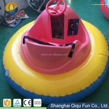 Amusement park used good quality outdoor kids ride inflatable aqua bumper boat on promotion
