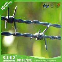 Multifunctional pvc barbed wire projects