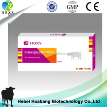 Veterinary Antipyretics 30% Analgin Injection For Poultry Farm