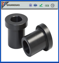 Good elasticity black color silicon rubber flange bushing