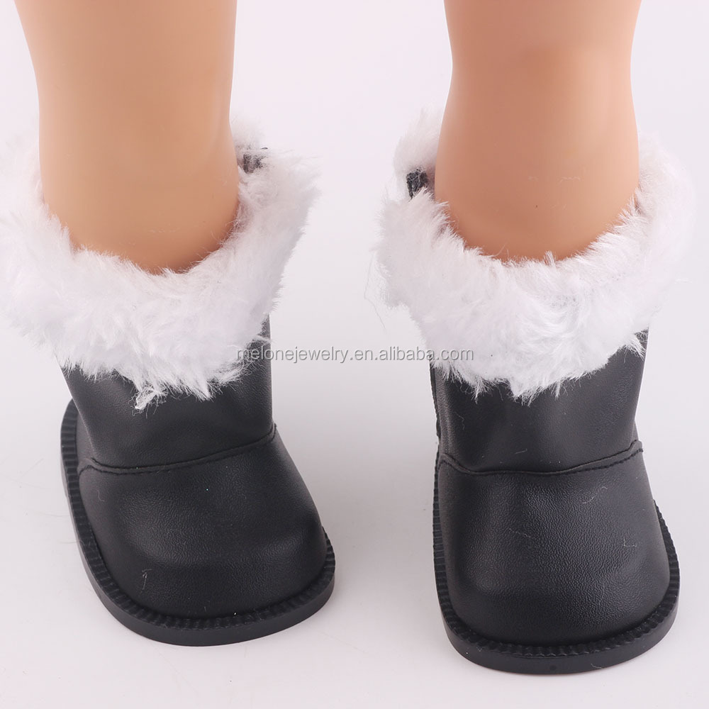 POPULAR !! NEW ARRIVE 18 Inch Doll Accessories Doll Shoes Wholesale White Fit 18 Inch Girl Doll Christmas Gift