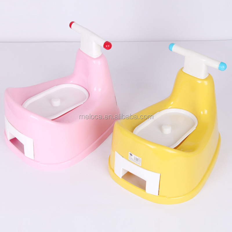 Funny lovely cartoon animal shape plastic children baby toilet seat kids potty training seat