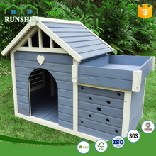 2017 hot modular dog cage for sale prefab wooden dog kennel Wood Dog House Room Blue+White