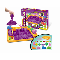1500g New Summer Outdoor DIY Toy Game Magic Play Sand for Kids