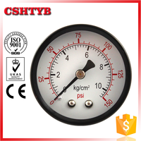 Standard top quality factory direct cheap pressure gauge