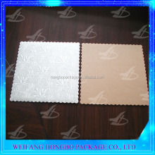 food grade cheap cake boards with foil paper