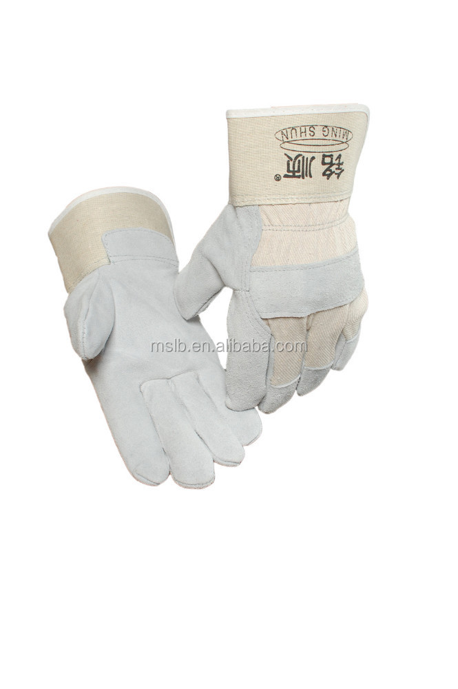 Welding and Soldering Supplies Gaozhou Leather Hand Glove