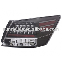 For HONDA ACCORD 4D Rear Back Lamp HD552-B0DE2-BH black housing clear 2008-2012 Year