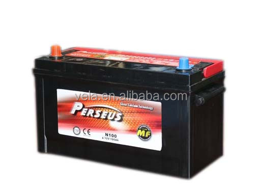 Perseus car <strong>battery</strong> <strong>N100</strong> MF <strong>battery</strong> 12v 100 ah