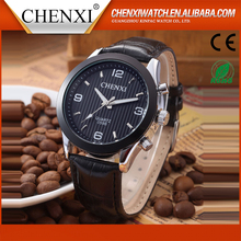 Business Gift Ideas Fashion Japan Movt Quartz Wrist 3Atm Water Resist Custom Brands Leather Watch Men