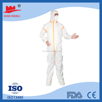Disposable coverall protective fire fighting paint dust gardening clothing