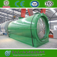DAYI 2015 Energy Saving Crude OIl /Pyrolysis Oil/ Waste Oil Distillation Plant Without Pollution