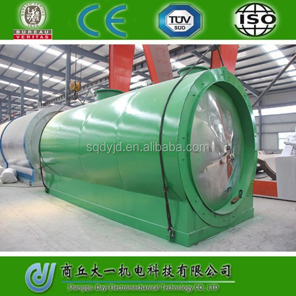 DAYI 2016 Energy Saving Crude OIl /Pyrolysis Oil/ Waste Oil Distillation Plant Without Pollution